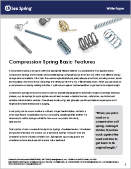 compression spring Basic